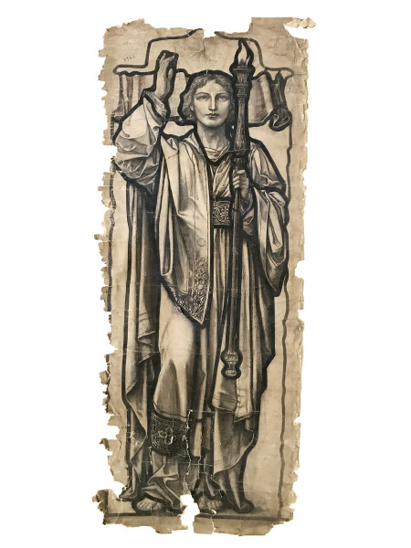 Heaton, Butler & Bayne, Warrington Window 'Truth', 1890-1897