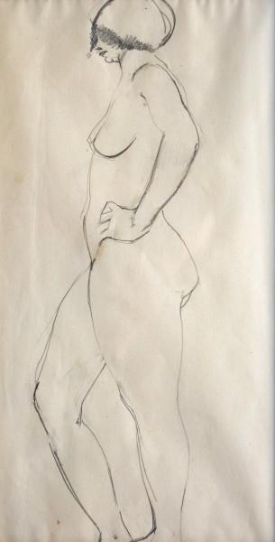 Patricia Preece, Life Study , c.1920