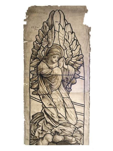 Heaton, Butler & Bayne, Praying Angel, c. 1880 – 1910
