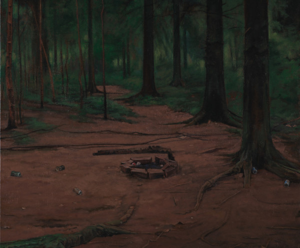 George Shaw, The Heart of the Wood, 2015 - 2016