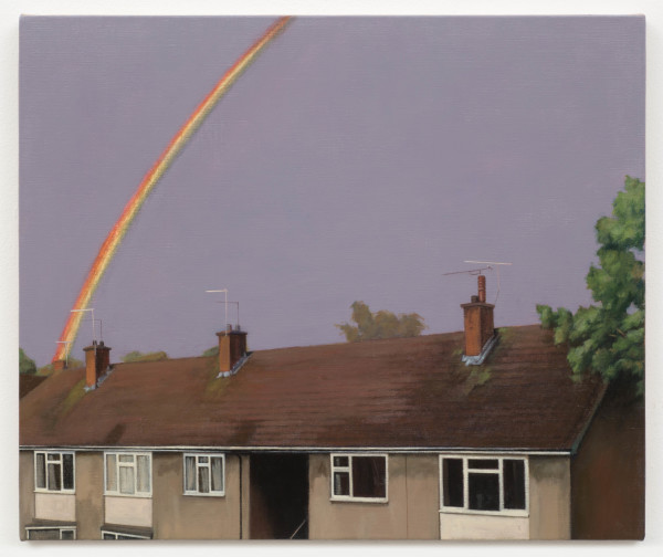 George Shaw, A View from a Teenagers Bedroom, 2017 (Left)
