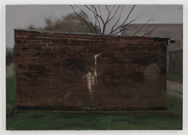 George Shaw, Study for Blank Expressions 5, 2017