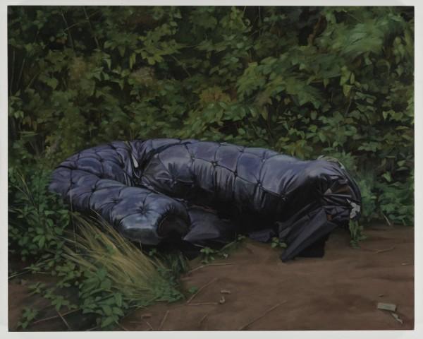 George Shaw, Love and Death (on Black Vinyl), 2018