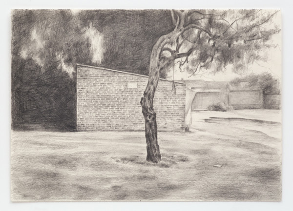 George Shaw, Study for Spoilt Summer I, 2012