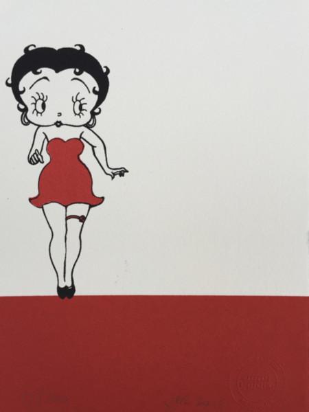 J P Reynolds (Framed), Betty Garter