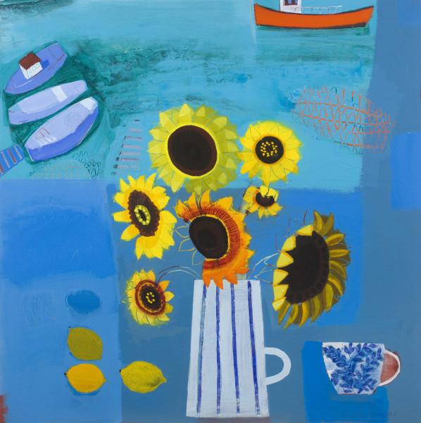 Emma Dunbar, Sunflowers from Tim's Allotment