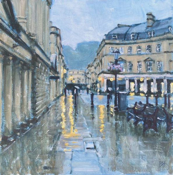 Ben Hughes, Stall Street, Bath (Study)