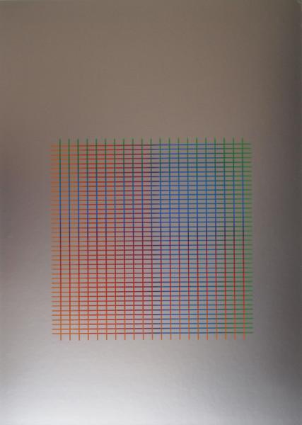 Julia Atkinson, Interchange - Series 15 - Silver, 1975