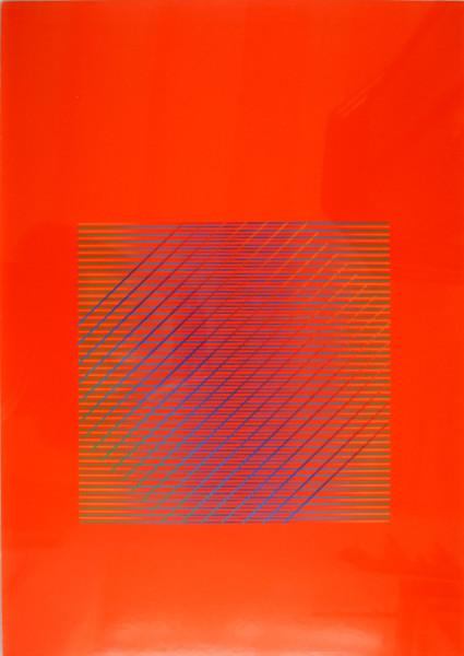 Julia Atkinson, Interchange - Series 19 Vermillion, 1979