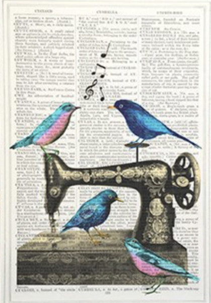 Unframed Prints, Sewing Machines