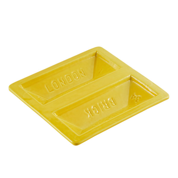 Stolen Form, Brick Dish - Yellow, 2017
