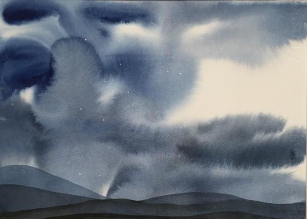 Judith Beeby, Starry Night II, 2020
