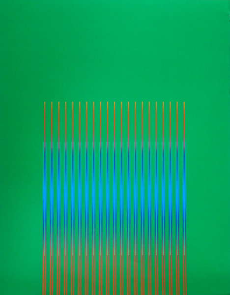 Julia Atkinson, Interchange - Series 4 - Green, 1975