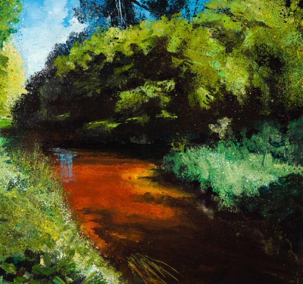 Rob Murray, The River Lark, Late Summer