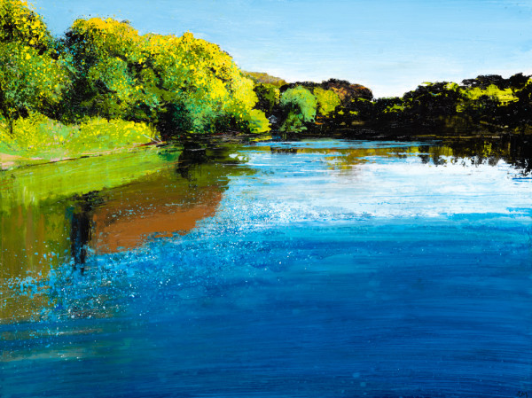 Rob Murray, A Bright Day (Towards the Boathouse)