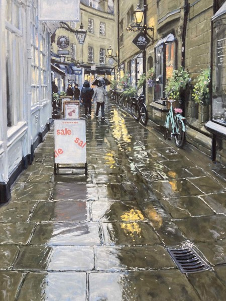 Ben Hughes, Rose Crescent, Cambridge