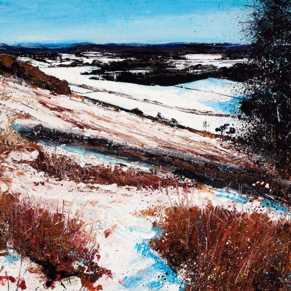Rob Murray, Winter Hillside (Bracken andThorn)