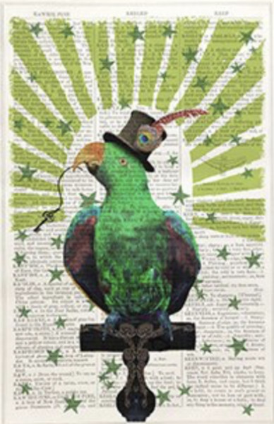 Framed Prints, Circus Parrot