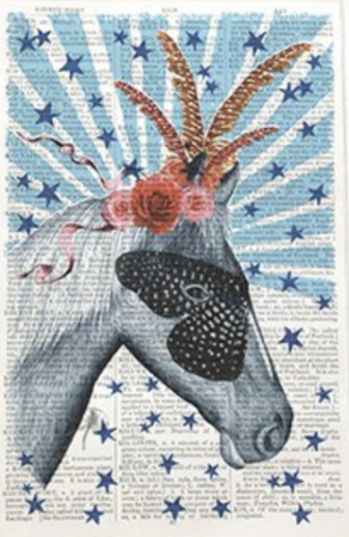 Unframed Prints, Circus Horse