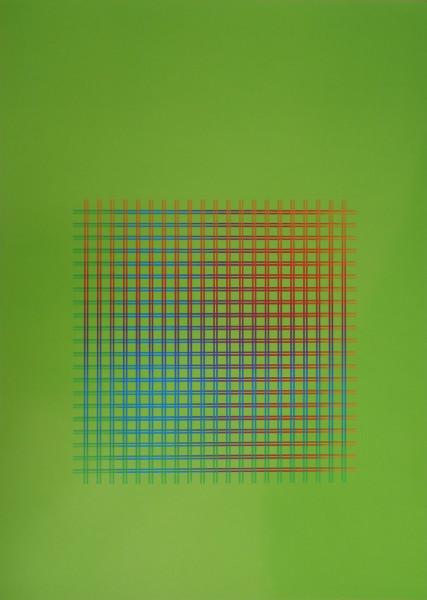 Julia Atkinson, Interchange -Series 9 - Lime, 1975