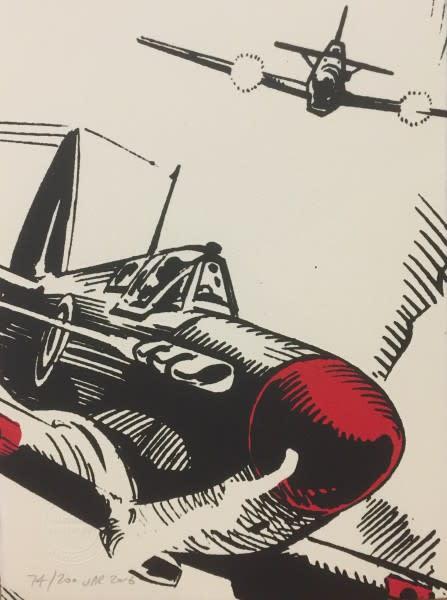 J P Reynolds (Framed), Spitfire! Close Up