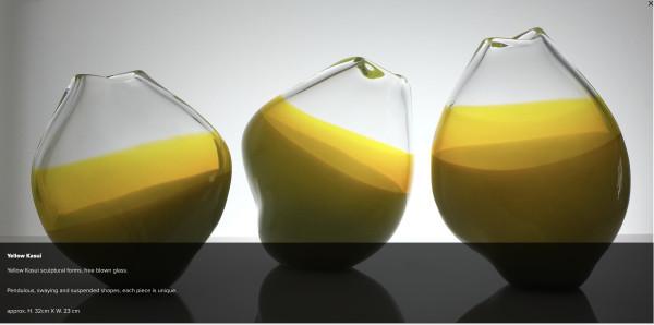 Michele Oberdieck, Yellow Kasui - small