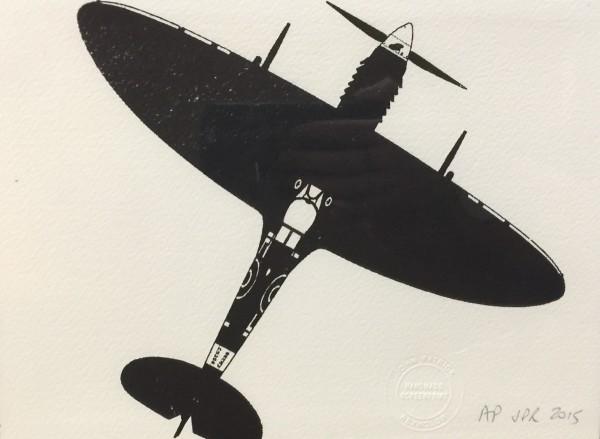 J P Reynolds (Framed), Black plane