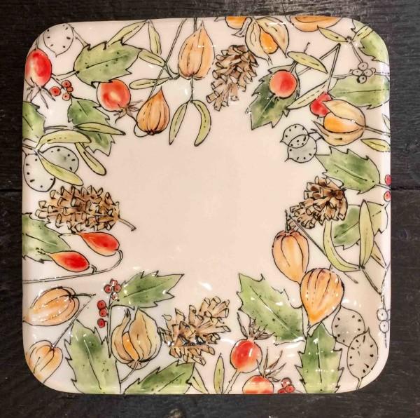 Kerry Edwards, Christmas Square Platter