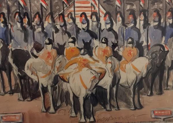 C.S. Brownlow, Horse Guards II