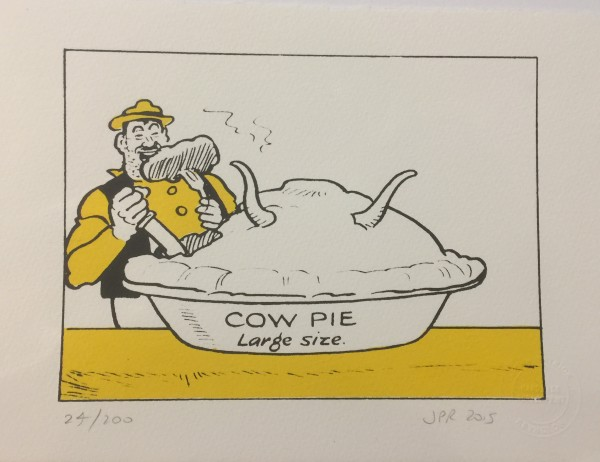 J P Reynolds, Cow Pie, 2015
