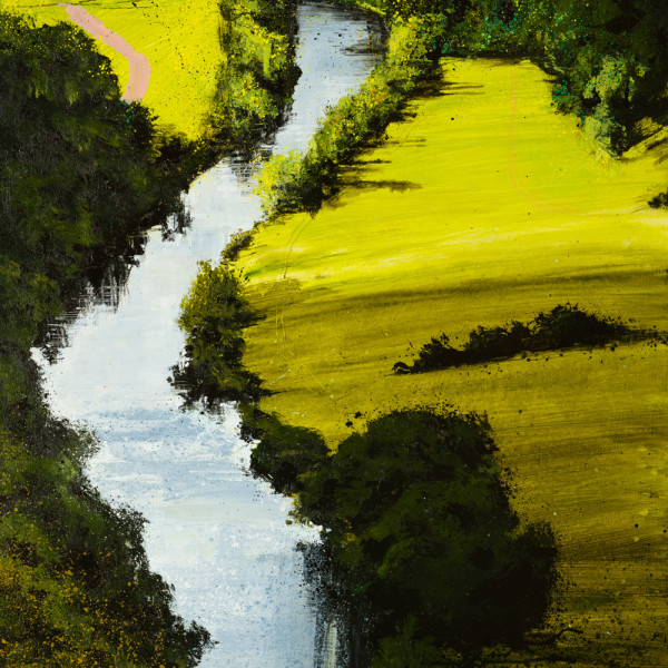 Rob Murray, River Green (Above The Wye)