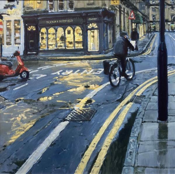 Ben Hughes, Towards Quiet Street, Bath