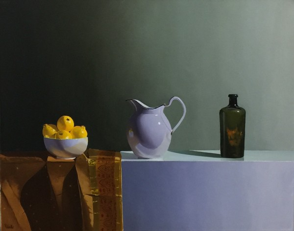 Robert Walker, Lemons with Jug, 2018
