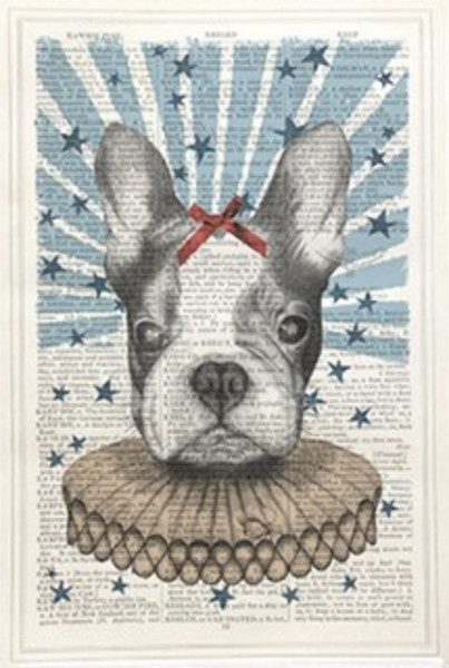Framed Prints, Circus Dog