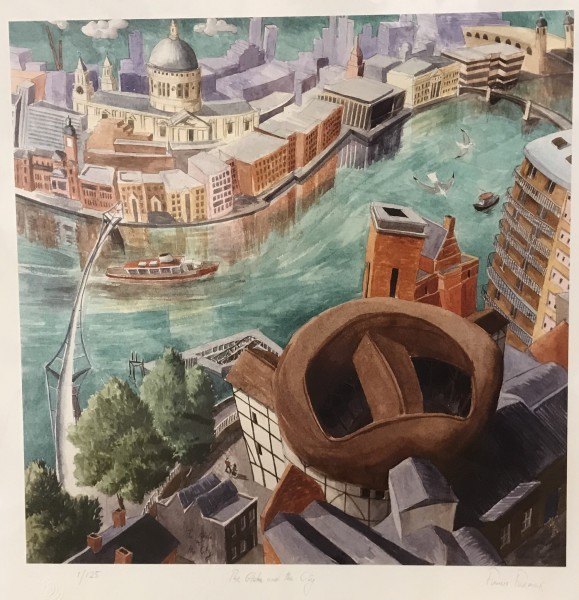 Francis Farmer, The Globe and the City