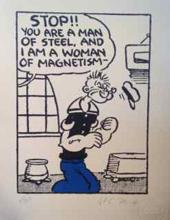 J P Reynolds, Popeye - Stop You Are A Man Of Steel, 2015