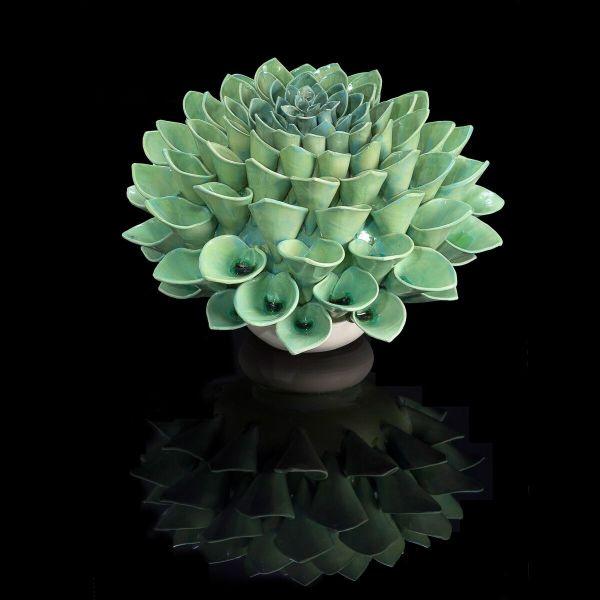Frances Doherty, Medium Green Glass Pom Pom