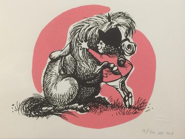 J P Reynolds, Thelwell's Hugging Pony, 2016