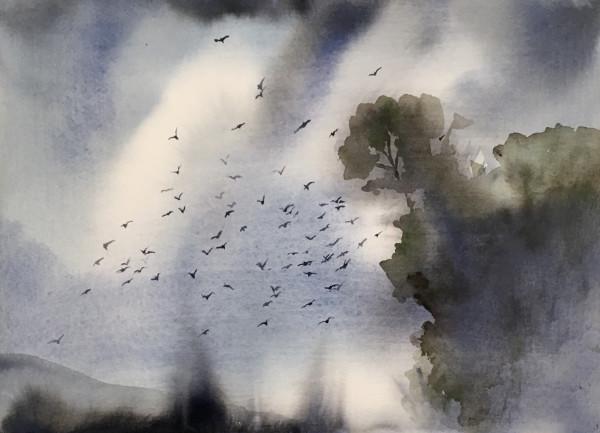 Judith Beeby, Summer Evening, 2020
