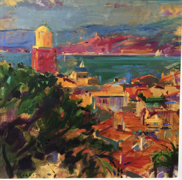 Peter Graham ROI, St Tropez Vista, 2016