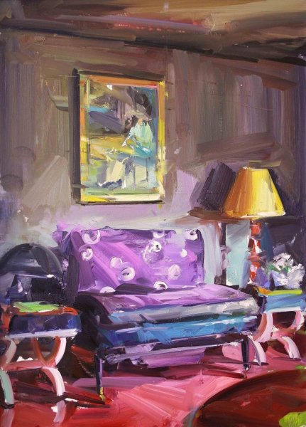 Paul Wright, The Sitting Room