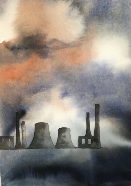 Judith Beeby, Factory, 2020