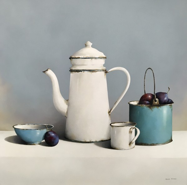 Susan Cairns, Enamel and Plums