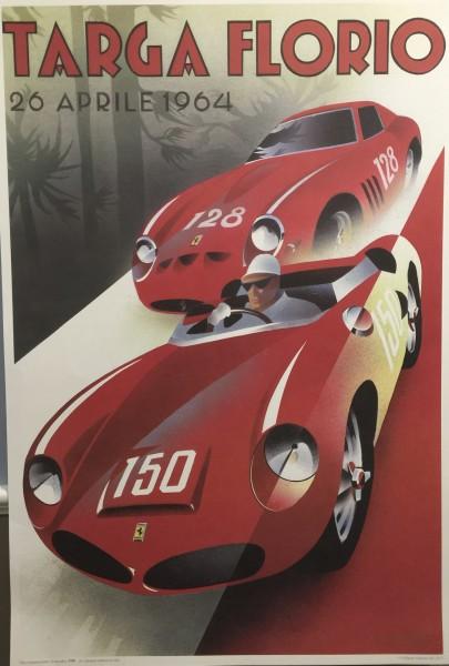 Emilio Saluzzi, 1964 Targa Florio