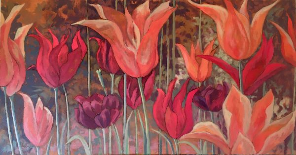Joyce Pinch, Charleston Tulips