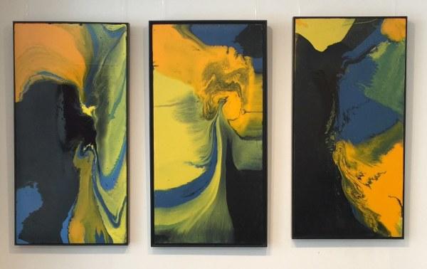 Judith Beeby, Amazon Basin Triptych