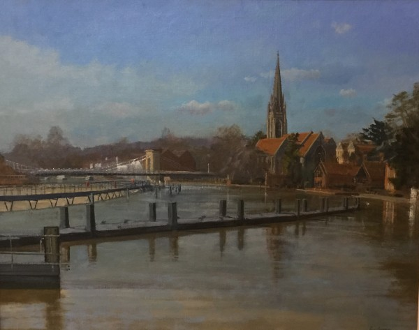 Roy Connelly, High Thames on Marlow