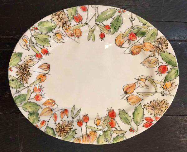 Kerry Edwards, Christmas Oval Platter