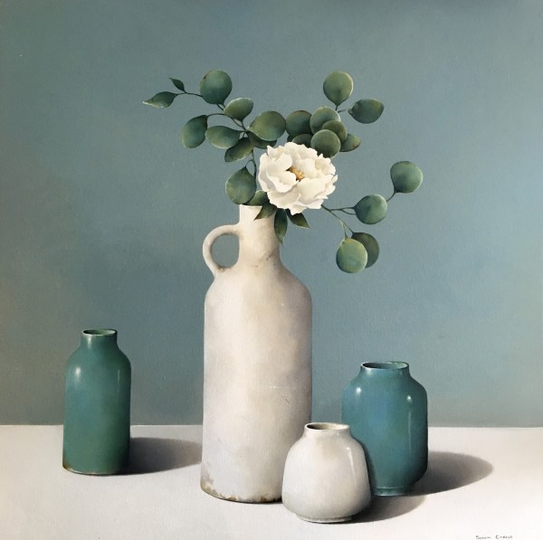 Susan Cairns, White Peony