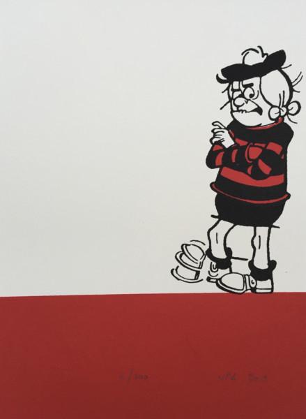 J P Reynolds, Minnie The Minx Tapping her Foot